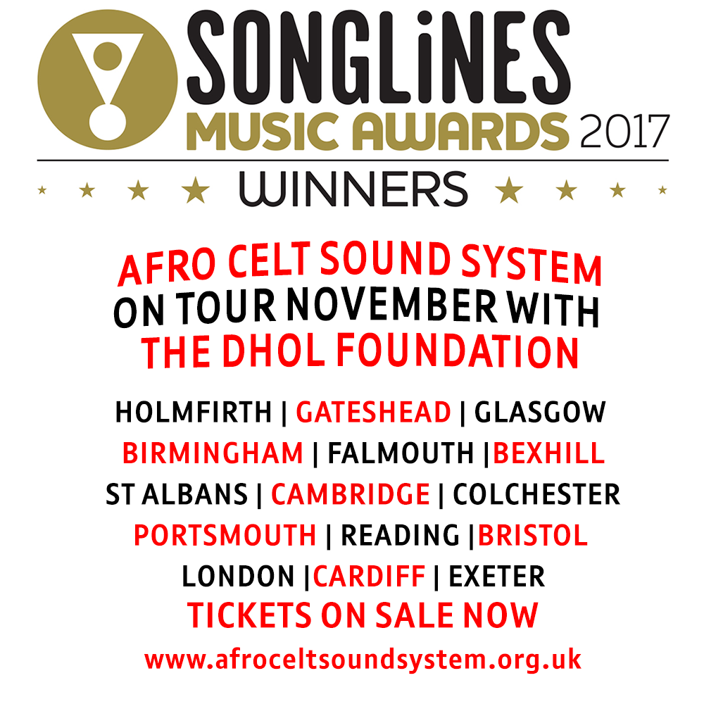 SONGLINES BEST GROUP AWARD!